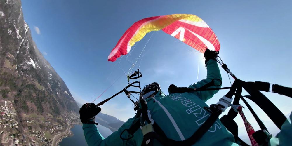 Skywalk Tequila 5 Seitenklapper Sidecollapse Gleitschirm Paraglider